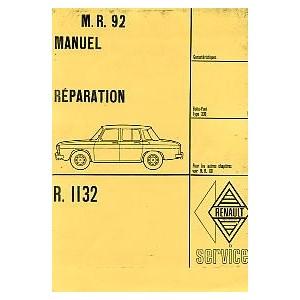 Manuel de réparation (R 1132)