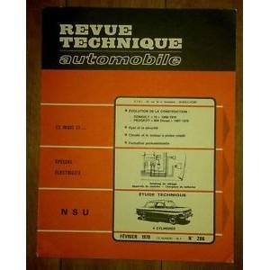 Revue Technique, RTA