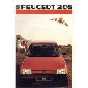 205 année 1986