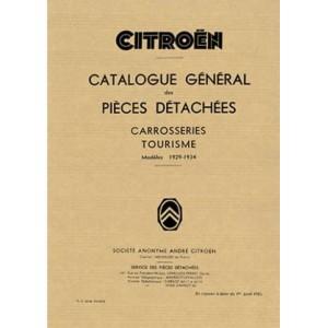 Catalogue de pièces Carrosserie