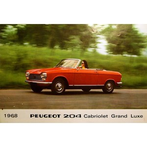 1968 Cabriolet  et Coupe grand luxe