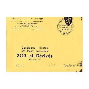 Catalogue de pièces détachées, carrosserie