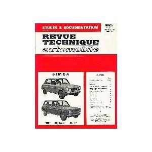 Revue technique, Simca 1100 inclus Ti