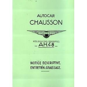 notice d entretien AH 48