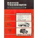 Revue Technique, RTA (Essence jusqu à 1984)