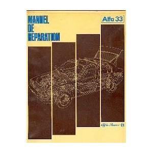manuel de reparation pour Alfa 33