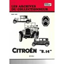 Revue technique Citroen B 14