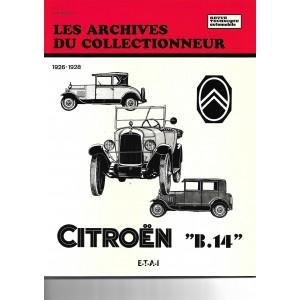 Revue technique Citroen B 14