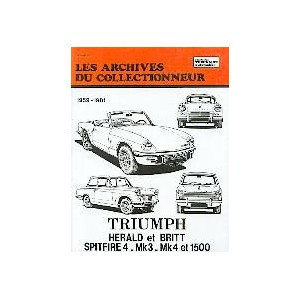 Revue Technique Triumph Herald et Spitfire