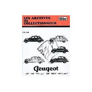 Revue technique Peugeot 202, 302, 402