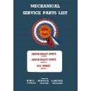 Catalogue de piéces Mécanique, Electricité