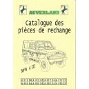 Catalogue de pièces, mécanique et électricité
