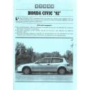 Etude Technique Honda Civic
