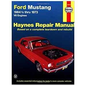 Revue technique, Haynes Ford Mustang