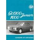 Notice d' entretien 1300 et 1600 (1974)