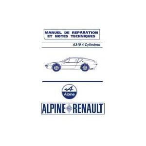 Manuel de Réparation A 310 4 cyl.