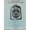 Catalogue de pièces détachées