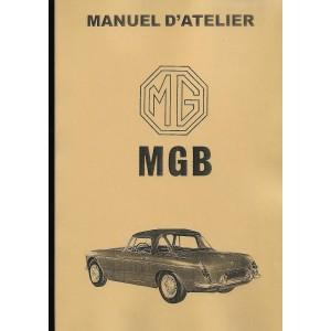 Manuel de réparation MGB