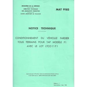 Notice technique Lohr FL 500