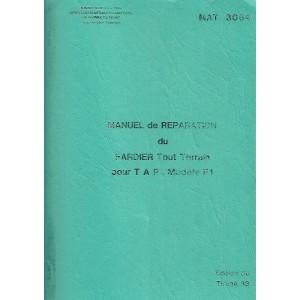 Manuel de réparation et catalogue de pièces Lohr FL 500