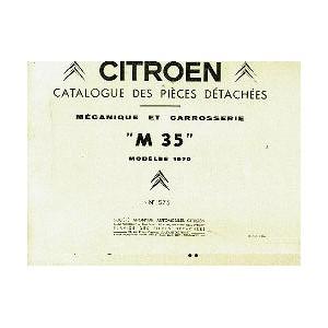 Catalogue de pieces ,mecanique et carrosserie